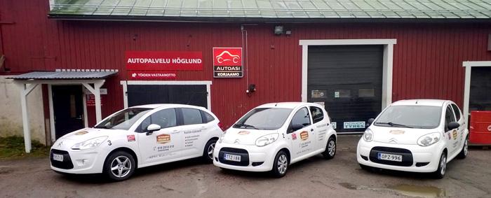 Autopalvelu Höglund Oy